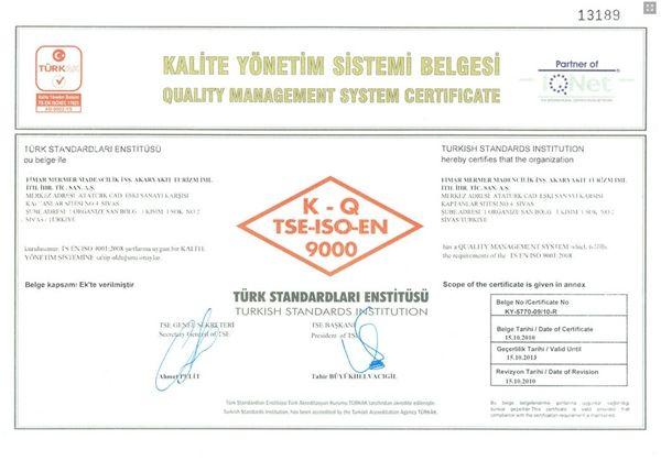TSE - ISO EN
