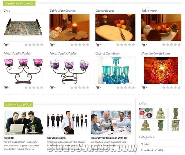 Decent Handicrafts From India 73844 Stone Supplier
