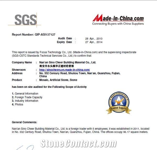 SGS Certified