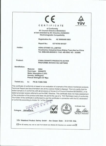 Granite CE DOCUMENT