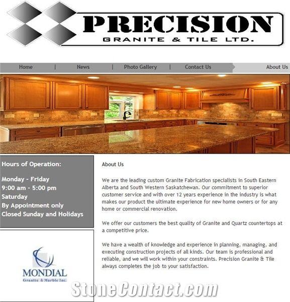 Precision Granite Tile Ltd - Stone Supplier
