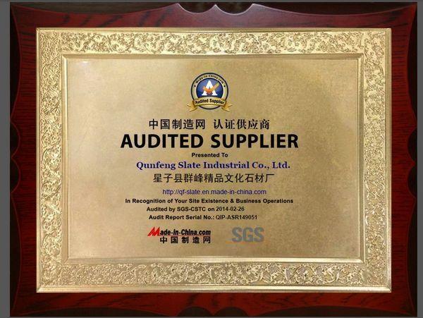 SGS Certificate  2014