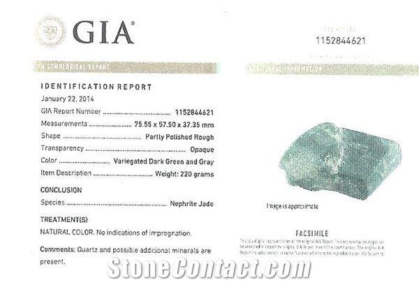 GIA Identification Report