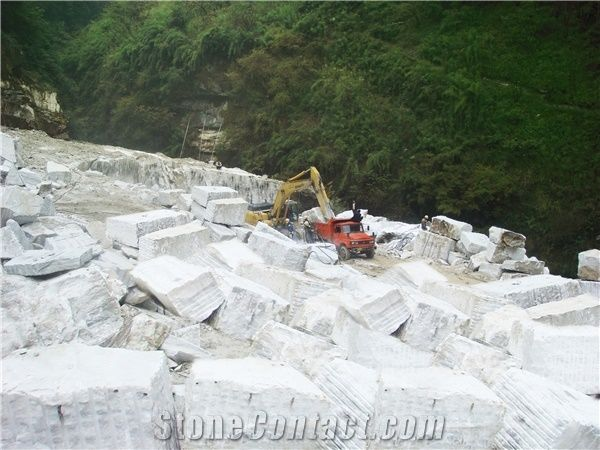 Sichuan Crystal White Marble - Sichuan White Marble Quarry