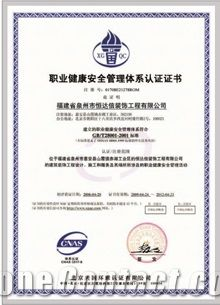 Environment Management System Certificate ISO14001