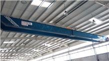 Wimac Overhead Bridge Cranes for Marble Workshops