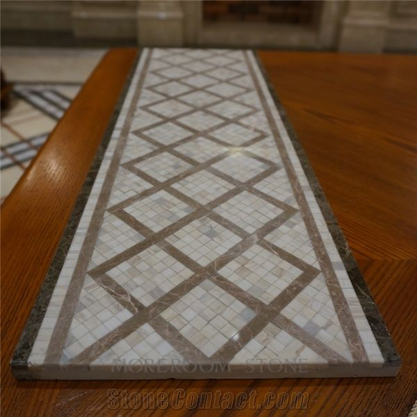 Molding border page4 foshan moreroom stone co ltd for Floor tiles border design