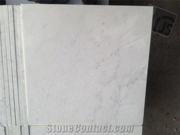 Bianco Carrara Marble Slabs & Tiles,Carrara White Marble