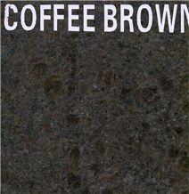 Coffee Brown Granite Slab, India Brown Granite