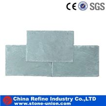 Green Roofing Slate Tile with High Quality,Honed Surface,China Natural Black Slate Roof Tile,Colorful Natural Slate Tile Roof and Roofing Tiles