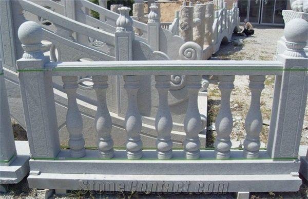 China Grey Granite Railing U0026 Balustrades, Staircase Rails, Handrail,  Railings, Baluster   Xiamen Tongan Yinfeng Granite Crafts Co.,Ltd