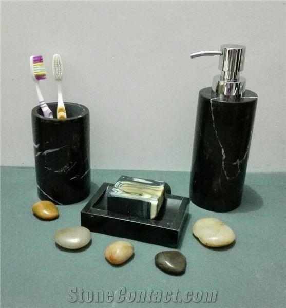 China Black Marble Bathroom Accessory, Soap Dish ...