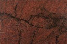 Exotic Red Dragon Granite Slabs