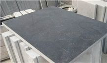 China Shandong Blue Limestone Tiles & Slabs,Exterior Stone Flooring Tiles