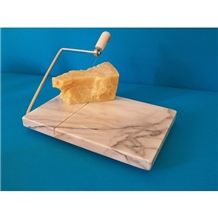 Bianco Carrara White Marble Cheese Cutter