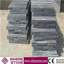 Natural Black Slate Cultured Stone, Wall Cladding