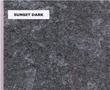 Sunset Dark Granite Tiles & Slabs, Grey Polished Granite Floor Tiles, Wall Covering Tiles