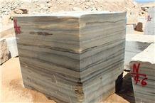 Delijan Wooden Marble Blocks & Slabs, Brown Marble Blocks