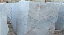 Ghorveh White Marble Blocks