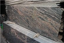 Xiamen China Chinese Shanxi Multicolor Black Granite Slabs & Tiles Paver Cover Flooring Honed Vein and Cross Cut Different Patterns