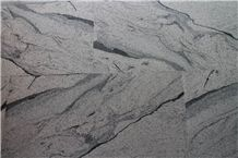 Xiamen China Chinese White Juaparana Granite Slabs & Tiles Paver Cover Flooring Honed Vein and Cross Cut Different Patterns