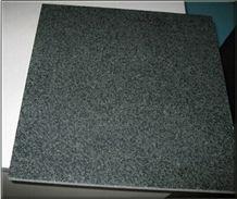 Chinese G612 Granite Tiles & Slabs, Zhangpu Green Granite, Dark Green Granite Tiles and Slabs