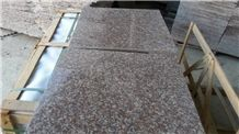 Cheapest G687 Polished Granite/Peach Red Polished Granite/China Pink Polished Granite Tiles & Slabs for Floor and Wall Covering