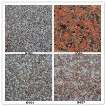 Granite Tiles Granite Slabs,G383 G562 G664 G687 Tiles for Floor Covering,Wall Cladding