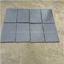 Grey Roof Slate,Black Roofing Slate with Half Round Shape, Roof Tile,Natural Stone,Roofing Slate,Grey Roofing Slate,Roof Slate Tiles