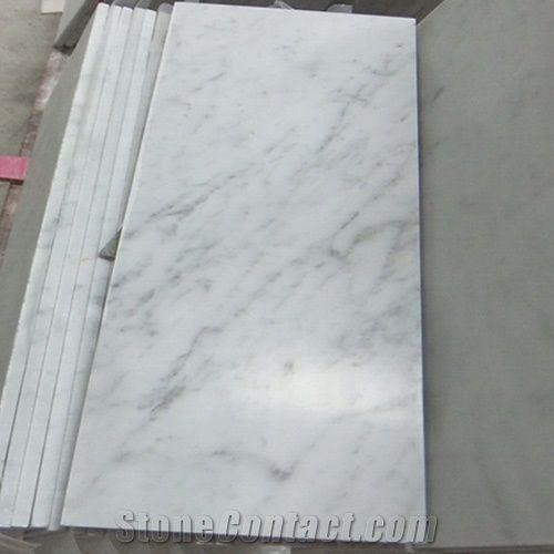 Bianco Carrara White Marble Tiles Slabs