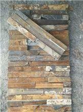 Xiayunling Rust Slate Cultured Stone, Stone Wall Decor