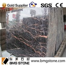China Cuckoo Red Marble Slabs