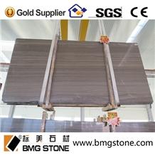 China Royal Wood Grain Marble Brown