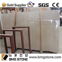 Polished Burdur Beige Marble Tile Wall