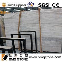 Polished Eurasian Wood Grain Stone Marble for Floor Tile Slab