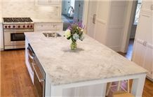 Perimeter Is Classic Soapstone Counter And Calacatta Gold