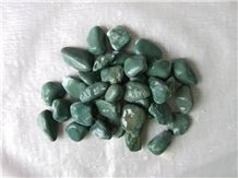 Ocean Blue Marble Gravels 1-3cm 5-7cm, Green Marble Gravels