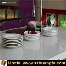 White Artificial Stone Quartz Countertop