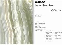 Kerman Green Onyx Vein Cut Tiles & Slabs