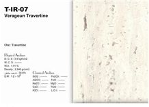Veragoun Travertine Tiles & Slabs, Beige Travertine Floor Tiles, Wall Tiles
