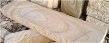 Tint Mint Sandstone Garden Landscaping Blocks Steps, Beige Sandstone Stairs India