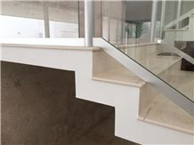 Marmol Crema Mexicano Stairs, Beige Marble Stairs & Steps Mexico