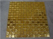 Golden Glass Mosaic Tiles for Wall and Floor