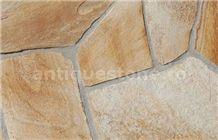 Gneiss Auriu De Rodhos Polygonal Flagstone