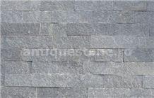 Gneiss Medgidia Gri De Sardinia Splitface Striped Wall Tiles