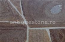 Gneiss Targu Mures Rust Cyprus Polygonal Wall and Floor Tiles