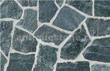 Gneiss Verde De Creta Polygonal Flagstone