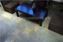 K Grey Bicolor Limestone Tiles