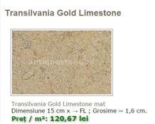 Transilvania Gold Limestone Tiles