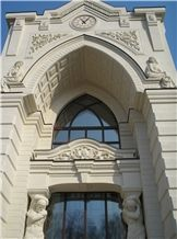 White Dream Limestone Building, Walling